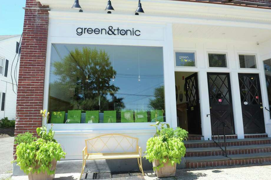 Jeff Pandolfino's Green&Tonic, 7 Strickland Avenue, Cos Cob, where they specializes in food detox Wednesday, July 25, 2012. Photo: Helen Neafsey / Greenwich Time