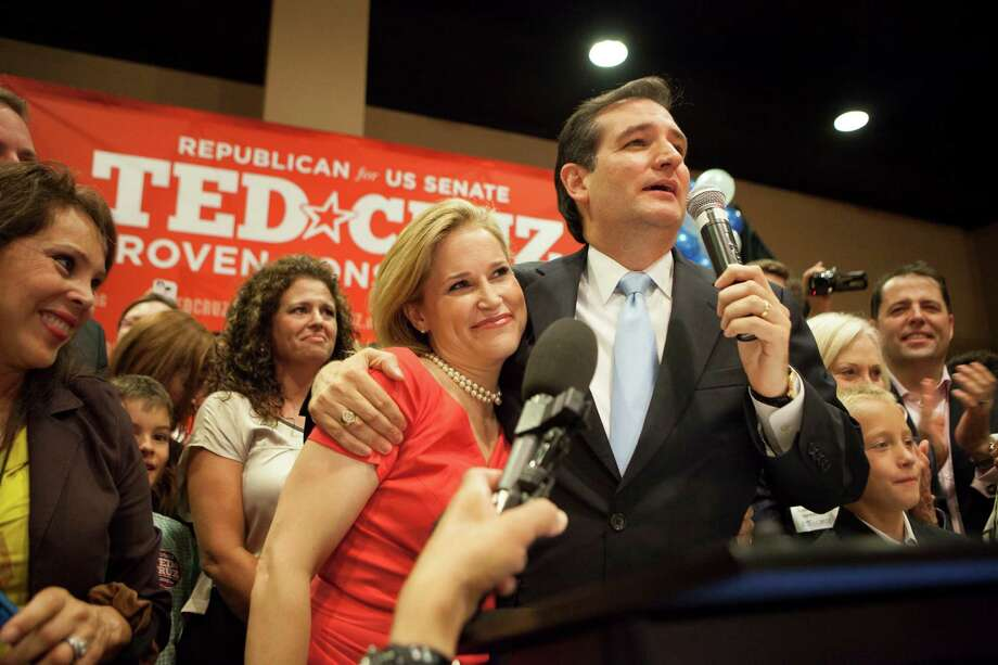 Republican Ted Cruz is virtually certain to become the first Hispanic U.S. senator from Texas. Cruz and Democratic San Antonio Mayor Julián Castro are rising Latino stars in their respective political parties. Photo: MICHAEL STRAVATO, New York Times / NYTNS