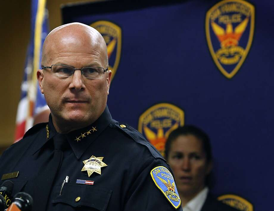 The highest paid San Francisco city employee was Police Chief Greg Suhr, who made $321,522. Photo: Paul Chinn, The Chronicle