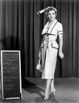 """This tailored sportswear from """"We're Not Married"""" is a prime example of a studio costume by Elois Jenssen that Marilyn requisitioned for her personal wardrobe. (Reprinted with permission from t)"""