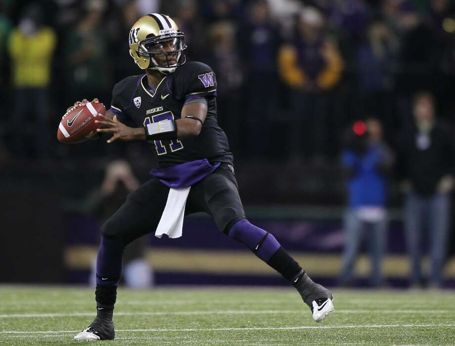 Last year at this time, Husky fans were trying to figure out if they could trust Keith Price to take over the reins of head coach Steve Sarkisian's offense from the recently departed Jake Locker. Three-thousand yards and 33 touchdowns later, Price will be the straw that stirs the drink of a potentially potent UW offense in 2012. The junior is also fully healthy, something he never was during 2011, which could result in Price making a lot more plays with his legs (like the three touchdowns he ran for against Baylor in last year's Alamo Bowl). (Otto Greule Jr / Getty Images)