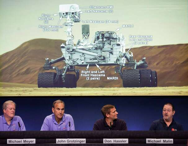 Scientists hope Mars rover will stick its landing ...