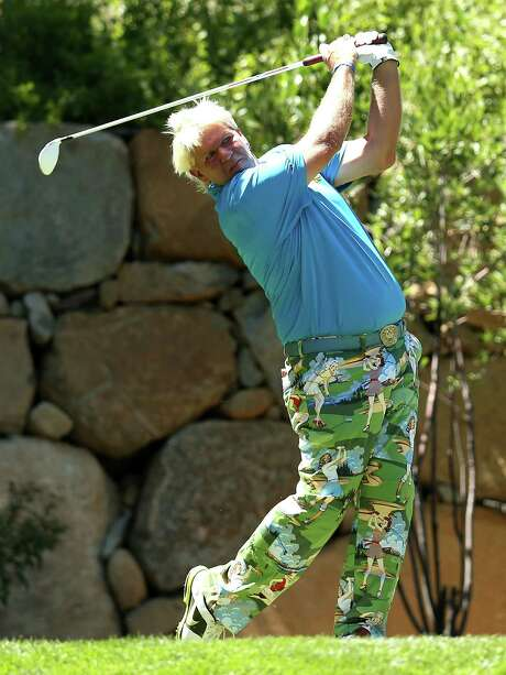 John Daly takes part in the Reno-Tahoe Open. Photo: Stephen Dunn, Getty Images / 2012 Getty Images