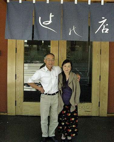Kaz Kajimura (left) and Yoshie Akiba have transformed Yoshi's, the small Japanese restaurant they started 40 years ago in Berkeley, into two world-renowned, Bay Area jazz clubs. Photo: Courtesy Yoshi's