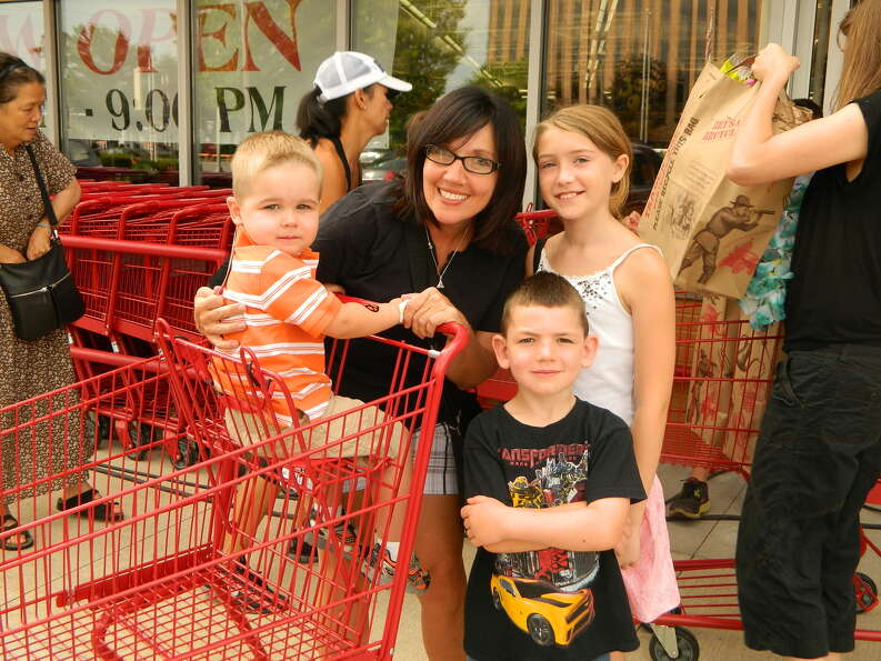 Were you Seen at the grand opening of the Trader Joe's in Colonie on Friday, Aug. 3, 2012?
