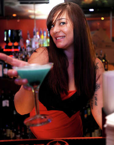 Marissa Harrington of Thirsty's in Beaumont is the Cat5 Bartender of the Week. Tammy McKinley/The Enterprise Photo: TAMMY MCKINLEY