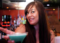 Marissa Harrington of Thirsty's in Beaumont is the Cat5 Bartender of the Week. Tammy McKinley/The Enterprise
