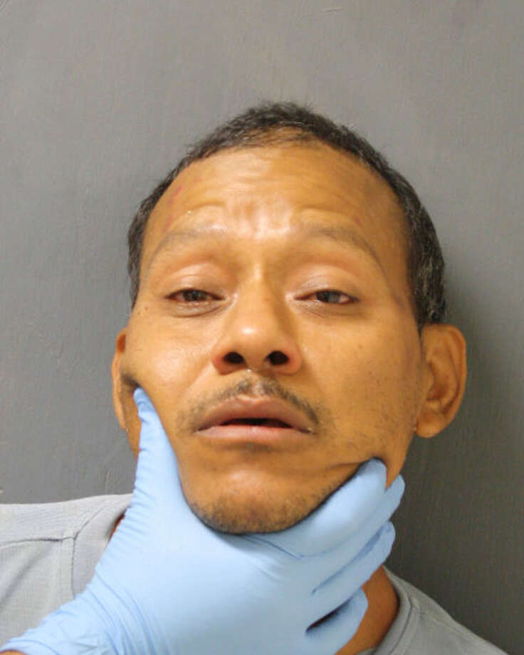 Teodoro Jovel is accused of leaving a 7-year-old girl in a hot car. (HCSO photo)