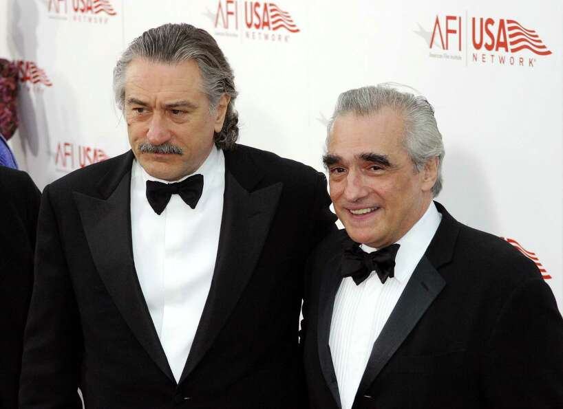 De Niro and Scorsese in 2003.