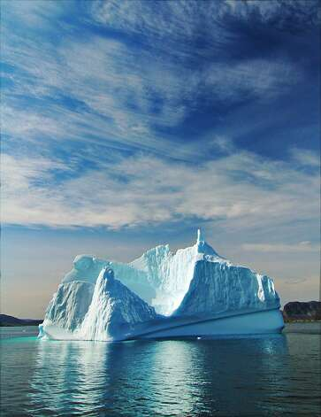 Icebergs are plentiful off the Torngat coast, even in mid-summer. Photo: Bill Fink, Special To The Chronicle