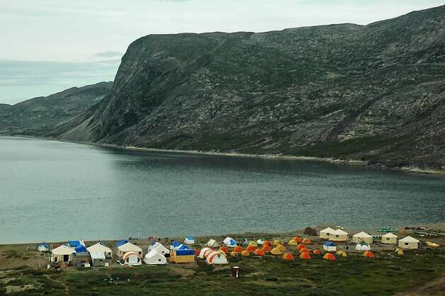 The Torngat Mountains Base Camp and Research Station is the only permanent site in the Canadian park's 3,700 square miles. Photo: Bill Fink, Special To The Chronicle