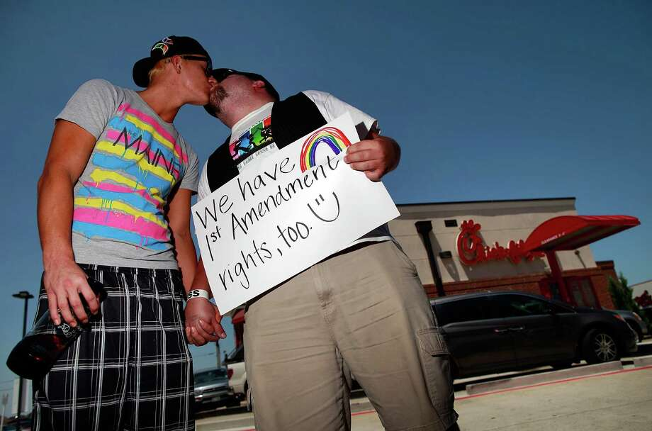 Texans have been vocal on the same-sex marriage issue. Click through the slideshow to see celebrities from the Lone Star State who support gay marriage.  Photo: Tom Pennington, Getty Images / 2012 Getty Images