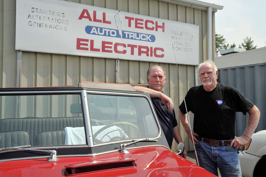Joe Fiore Left And Bill Williams Co Owners Of All Tech Auto