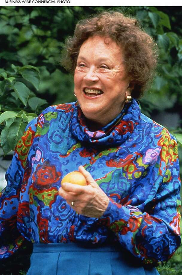 Julia Child Photo: James Scherer For WGBH/WNET, BW
