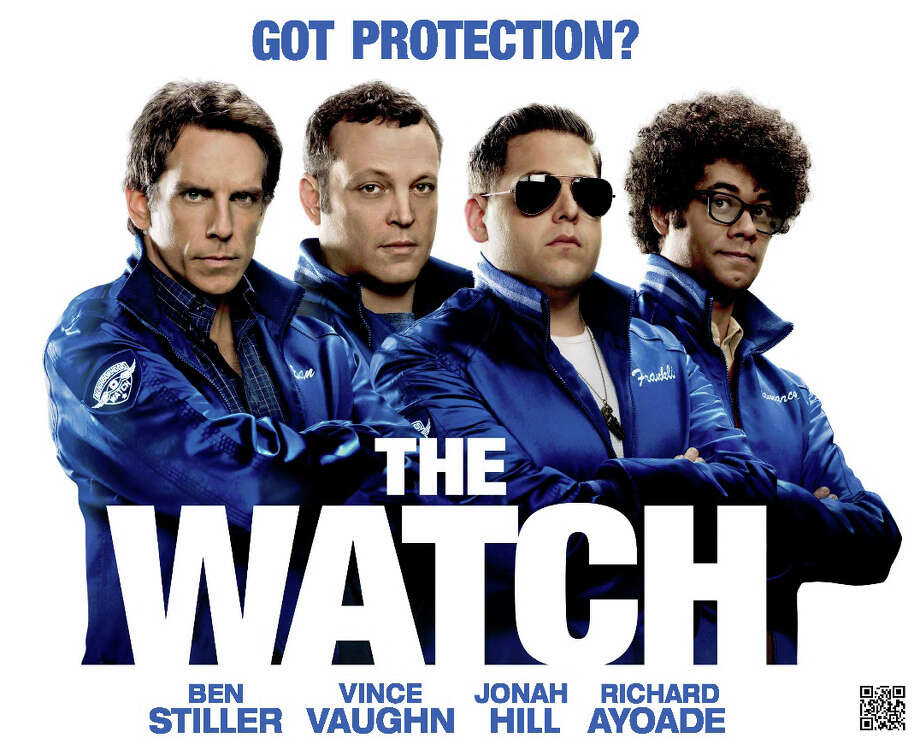 "The movie comedy, ""The Watch,"" is playing in area movie theaters. Photo: Contributed Photo / Westport News contributed"