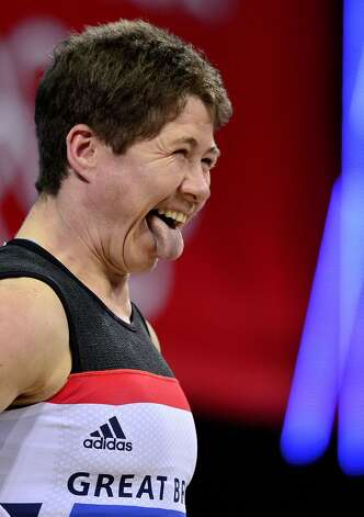British weight lifter Natasha Perdue (Yuri Cortez / Getty Images)