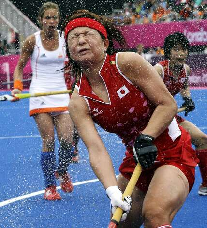 Japanese field hockey player Nagisa Hayashi (Bullit Marquez / Associated Press)