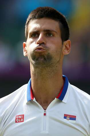 Serbian tennis player Novak Djokovic (Clive Brunskill / Getty Images)