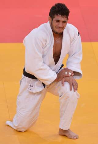 Cuban judo competitor Asley Gonzalez Montero (Johannes Eisele / Getty Images)