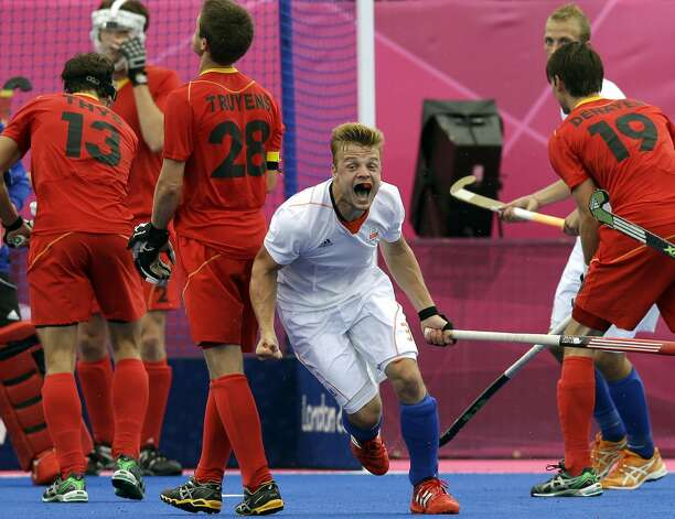 Netherlands field hockey player Mink van der Weerden (Bullit Marquez / Associated Press)