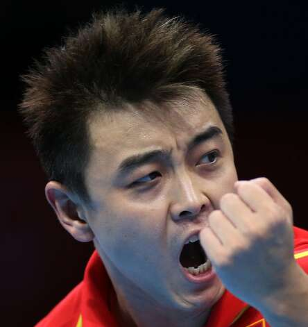 Chinese table tennis player Wang Hao (Sergei Grits / Associated Press)