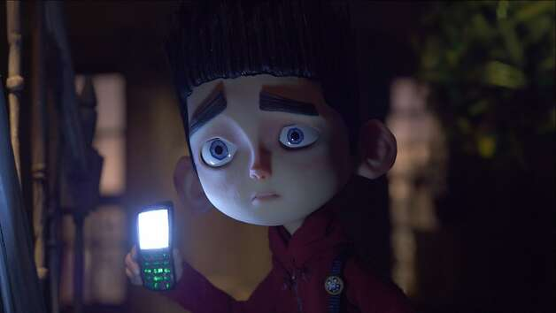 "Norman (voiced by Kodi Smit-McPhee), a boy who can speak with the dead, tries to save his town from a curse in the 3-D stop-motion comedy thriller ""ParaNorman,"" opening Friday at Bay Area theaters. Photo: Laika Inc., Focus Features"