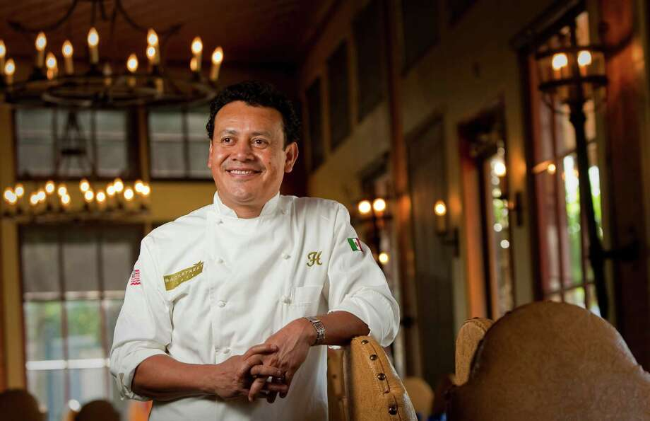 Hugo Ortega, executive chef of Hugo's restaurant, is nominated for James Beard Award's best chef Southwest, Ortega is one of three Texans up for the award. Ortega is photographed Wednesday, April 18, 2012, in his restaurant in Houston.  ( Nick de la Torre / Houston Chronicle ) Photo: Nick De La Torre / © 2012  Houston Chronicle