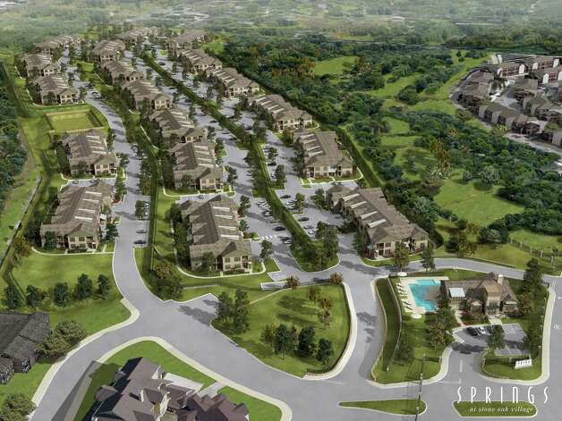 The Springs at Stone Oak Village is a 360-unit multifamily project that will feature studios and 1-2 and 3-bedroom apartments. Construction on the project started in May and is expected to be complete by January.