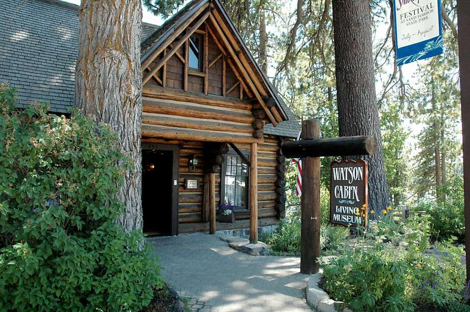 Watson Cabin is one of the museums on the Placer Heritage Trail. Photo: Christine Delsol, Special To The Chronicle