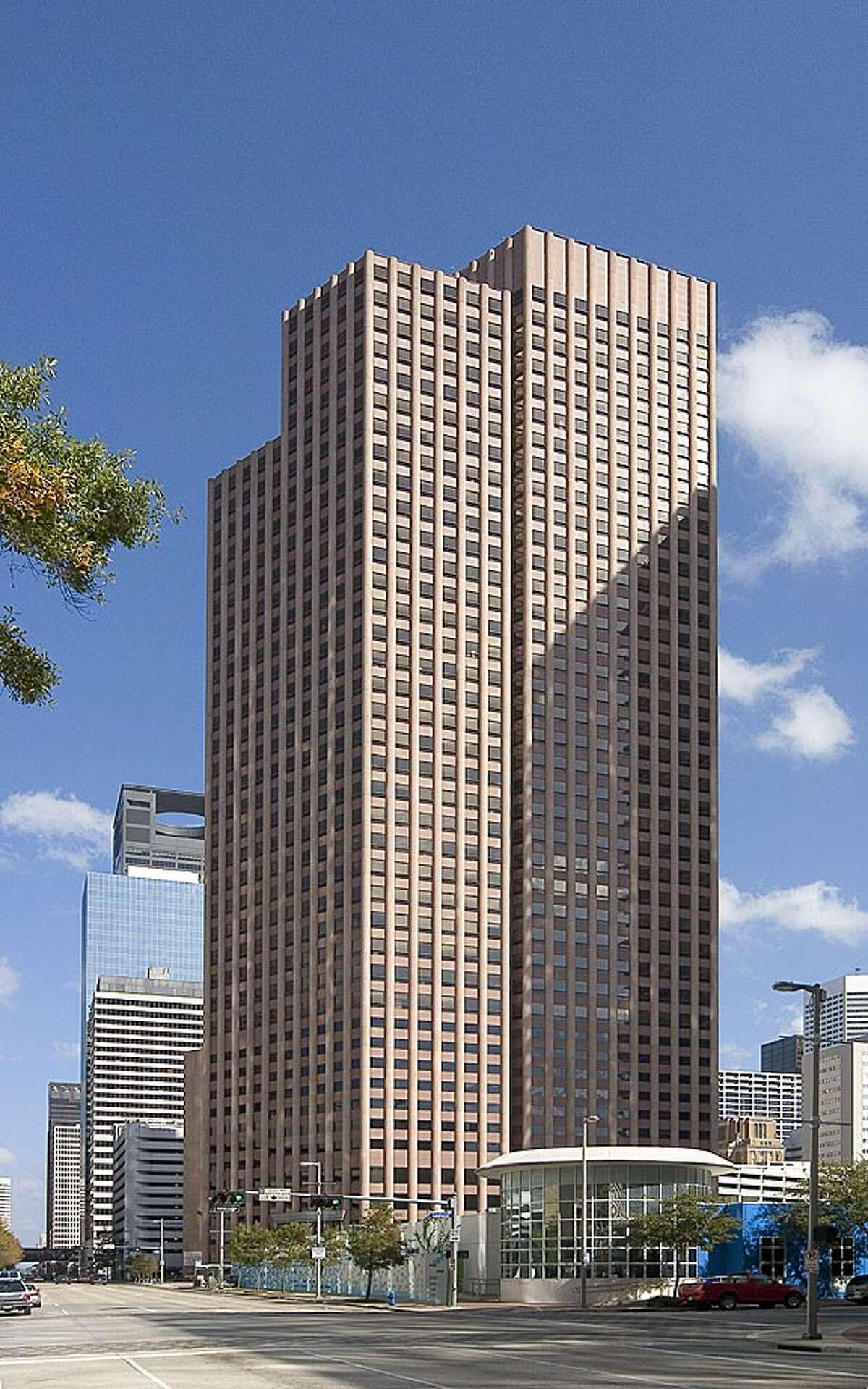 24. Wedge International TowerCompleted in 1983 | 550.01 feet | 43 stories | 1415 Louisiana Street