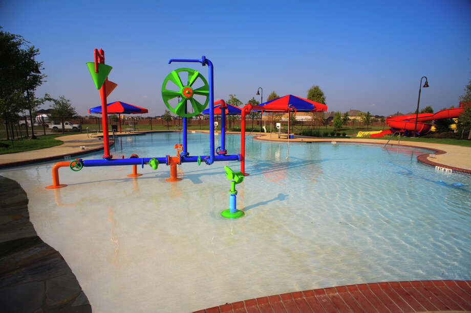 Cinco ranch is home to three new Katy ISD schools opennig later this month, and young residents can enjoy the last weeks of summer at the community's newest amenity. Photo: Russell Jumonville