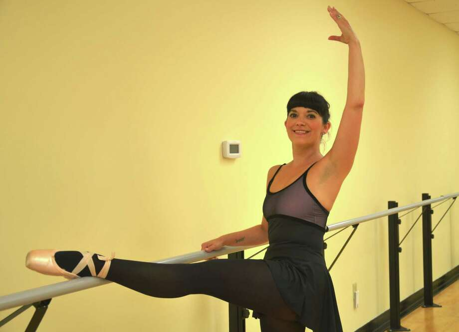 Amy Barton Pai of Vorheesville has a passion for ballet that dates back to her childhood in Hyde Park.  Photo courtesy Albany College of Pharmacy and Health Sciences