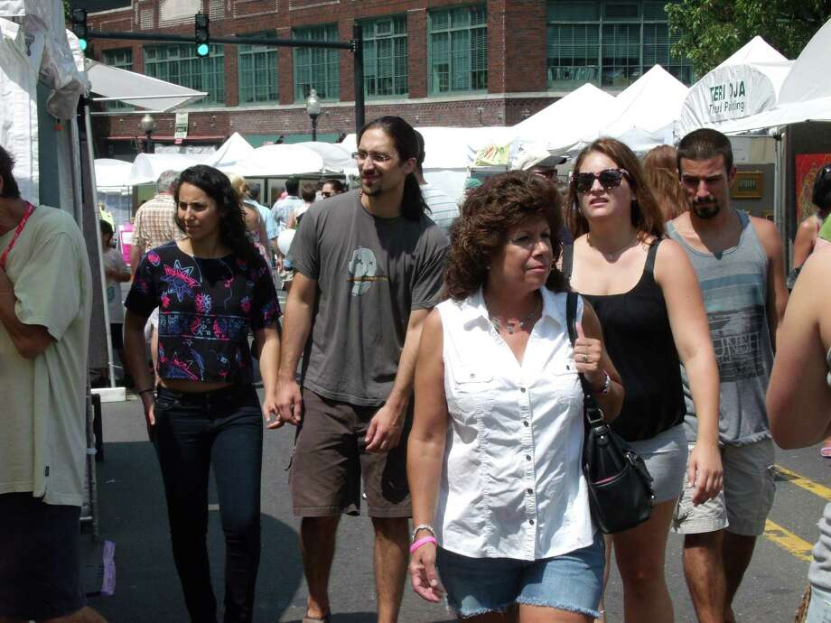 Were you SEEN at the SoNo Arts Celebration? Photo: Todd Tracy / Connecticut Post