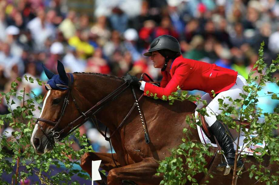 Reed Kessler of the United States riding Cylana competes in the 1st Qualifier of Individual Jumping at Greenwich Park. Photo: Alex Livesey, Getty Images / 2012 Getty Images