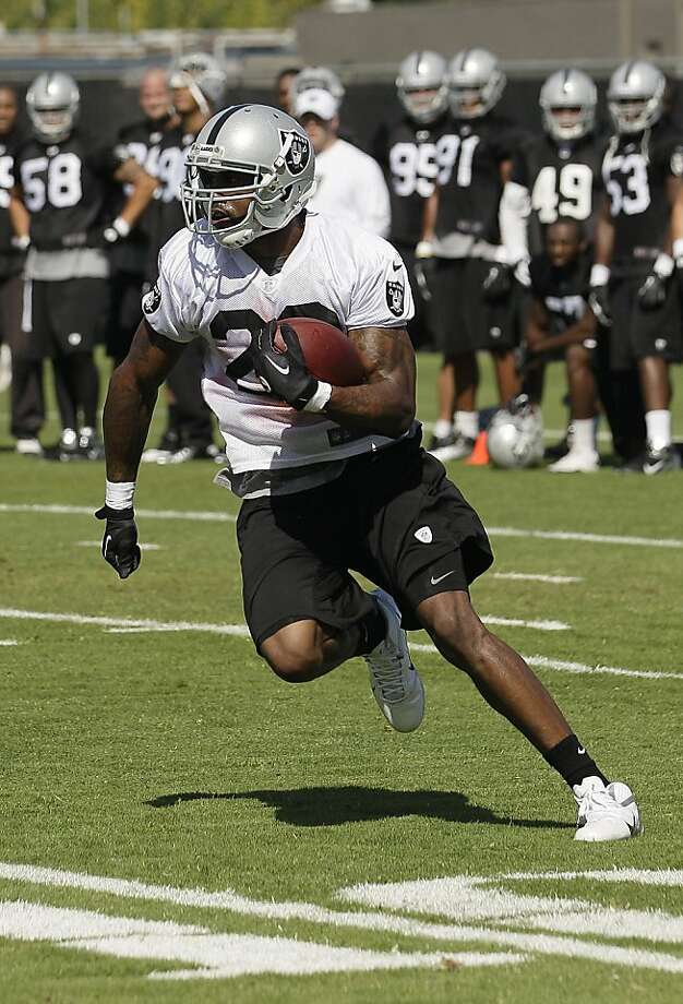 Darren McFadden is back after missing nine games last season with a foot injury. Photo: Jeff Chiu, Associated Press