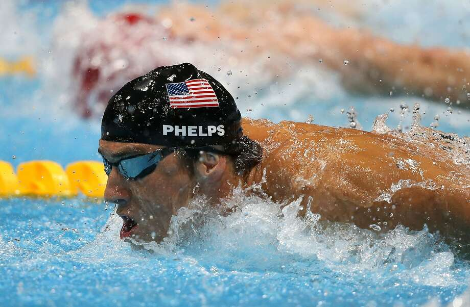 LONDON, ENGLAND - AUGUST 04:  Michael Phelps of the United States competes in the Men's 4x100m Medley Relay Final on Day 8 of the London 2012 Olympic Games at the Aquatics Centre on August 4, 2012 in London, England.  (Photo by Jeff Gross/Getty Images) (Getty Images)