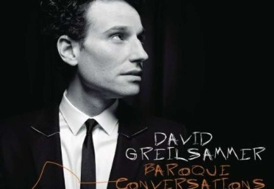"CD cover: David Greilsammer ""Baroque Conversations"" Photo: Sony Classical"