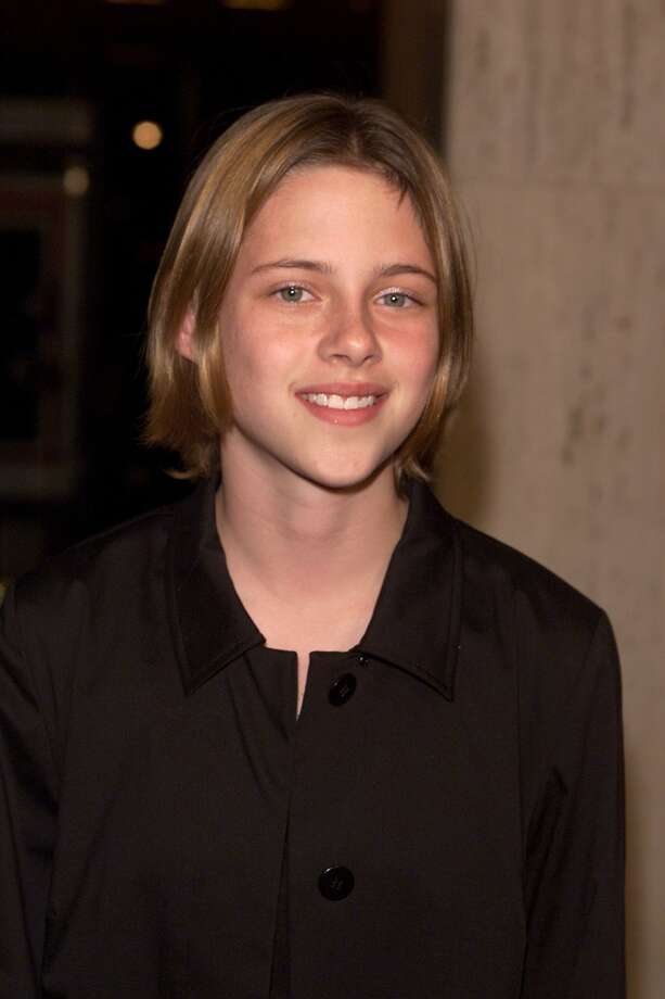"Kristen Stewart, 22, was Forbes' highest-paid actress in 2012. Long before ""Twilight"" made her extremely famous, she was in ""Panic Room"" with Jodie Foster. Here's Stewart in 2002.  (Getty Images)"