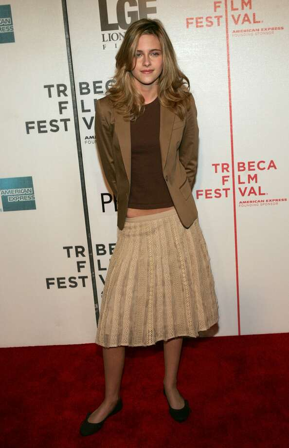 "Before Stewart found high fashion. (""Fierce People"" screening, 2006.)   (Getty Images)"