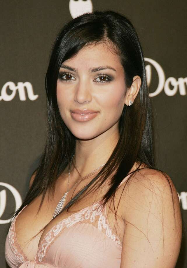 Kim Kardashian probably never had a day when she wasn't rich and famous. But here she is in 2006.  (Getty Images)