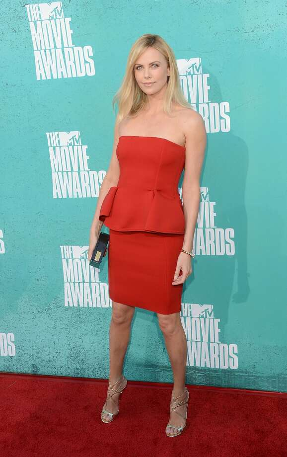 Theron in 2012, at the MTV Movie Awards.  (Jason Merritt / Getty Images)