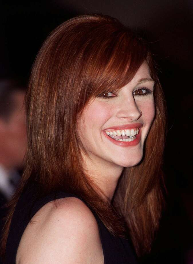 Julia Roberts has been America's movie sweetheart for a while. Here she is in 1995.  (Associated Press)