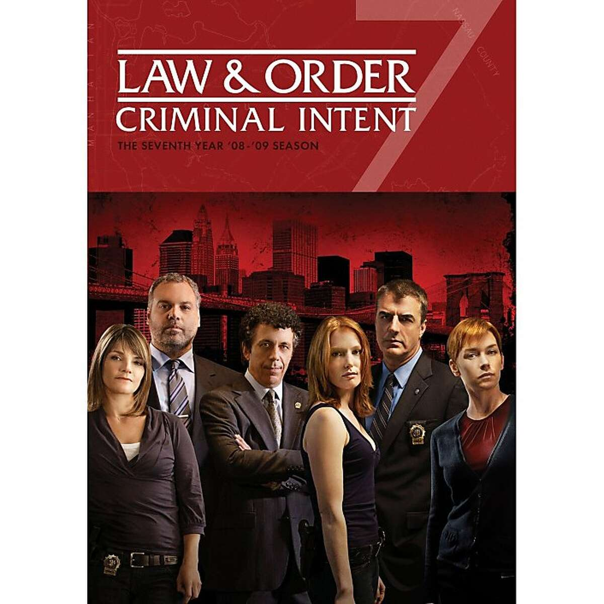 DVD cover: Law & Order: Criminal Intent -- The Seventh Year