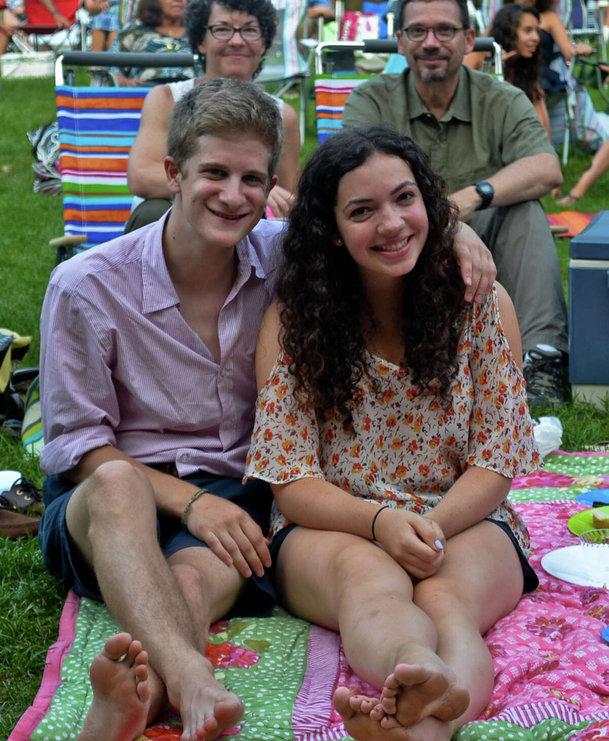 Were you Seen at Arabian Nights with the Philadelphia Orchestra at SPAC on Saturday, Aug. 4, 2012?