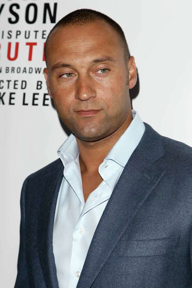 "NY Yankees player Derek Jeter is seen at the ""Mike Tyson: Undisputed Truth"" event on Thursday, Aug. 2, 2012 in New York. Photo: Donald Traill, DONALD TRAILL/INVISION/AP / Invision"