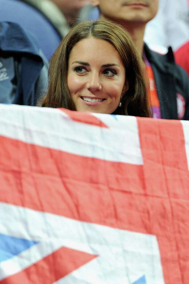 Catherine, Duchess of Cambridge looks on during the Artistic Gymnastics Men's Pommel Horse Final at North Greenwich Arena in London. Photo: Pascal Le Segretain, Getty Images / 2012 Getty Images