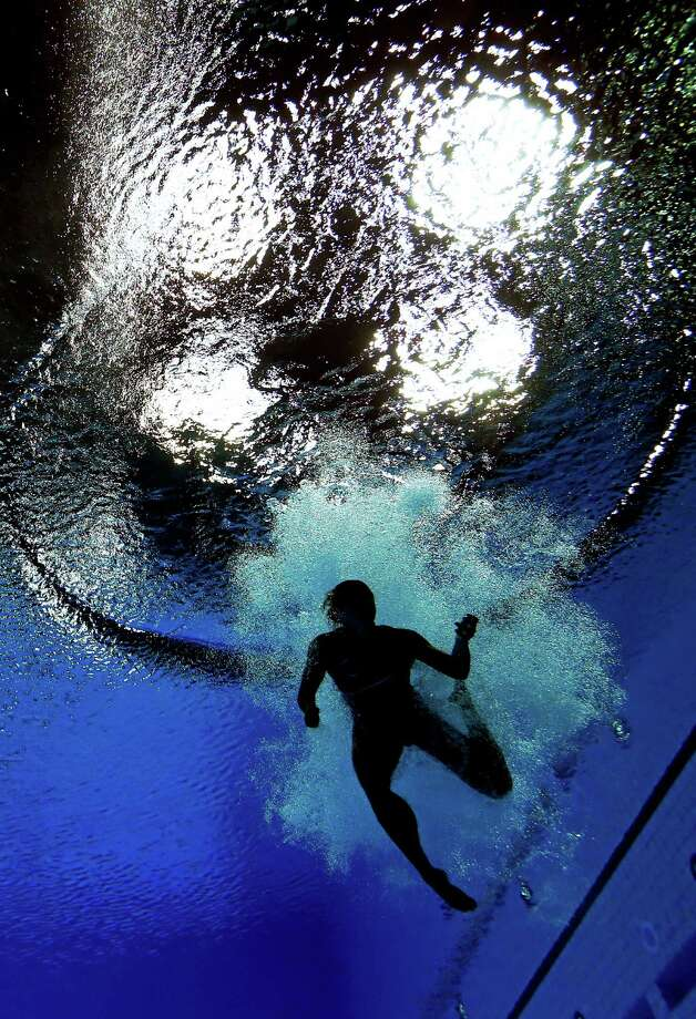 Cassidy Krug of the United States competes in the Women's 3m Springboard Diving final. Photo: Clive Rose, Getty Images / 2012 Getty Images