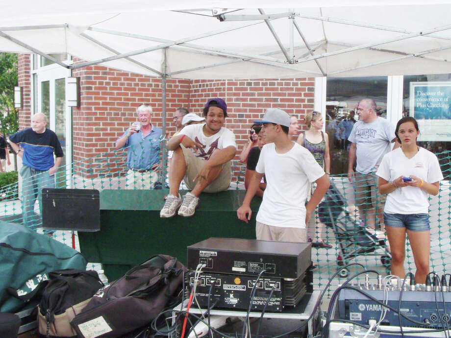 Were you seen at the Greenwich Avenue Block Party Sunday afternoon? August 5, 2012. Photo: Todd Tracy / Greenwich Time