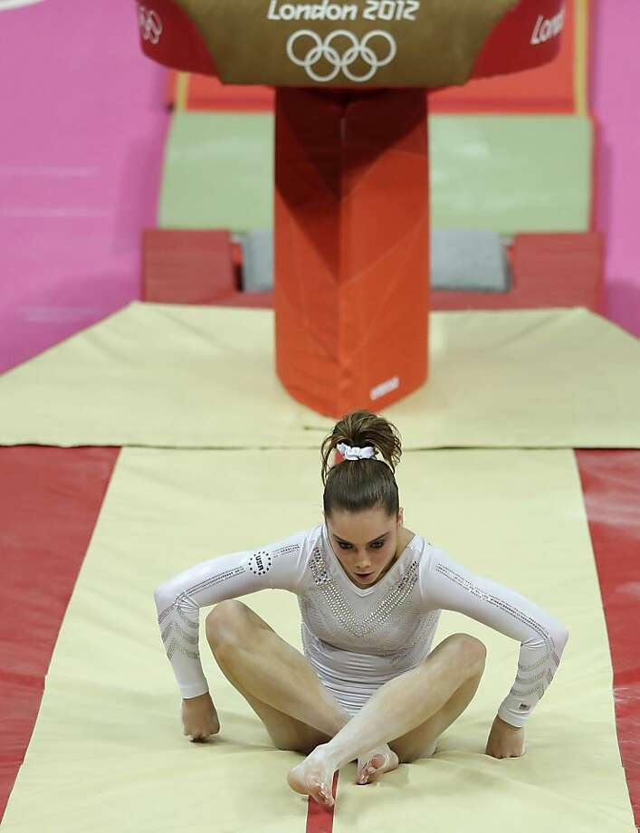 One fall was the difference between silver and gold for McKayla Maroney. Photo: Gregory Bull, Associated Press