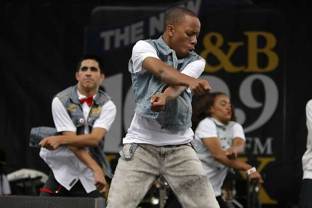 The Z-Swag dancers performed with Zendaya & Pop Lyfe on Sunday, August 5, 2012 at the Art and Soul Festival in Oakland, Calif. Photo: Megan Farmer, The Chronicle
